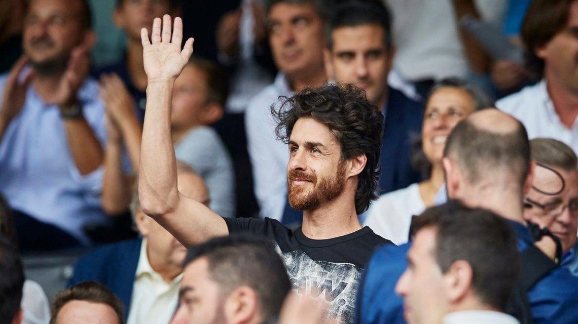 VIDEO: Pablo Aimar fue a ver al Valencia y fue ovacionado por todo el estadio