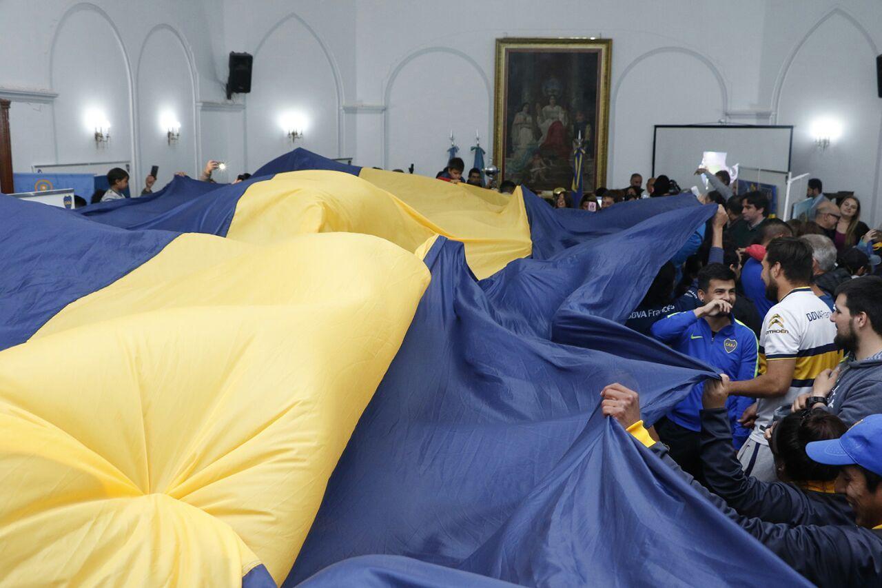 (Foto: Prensa Boca Juniors)