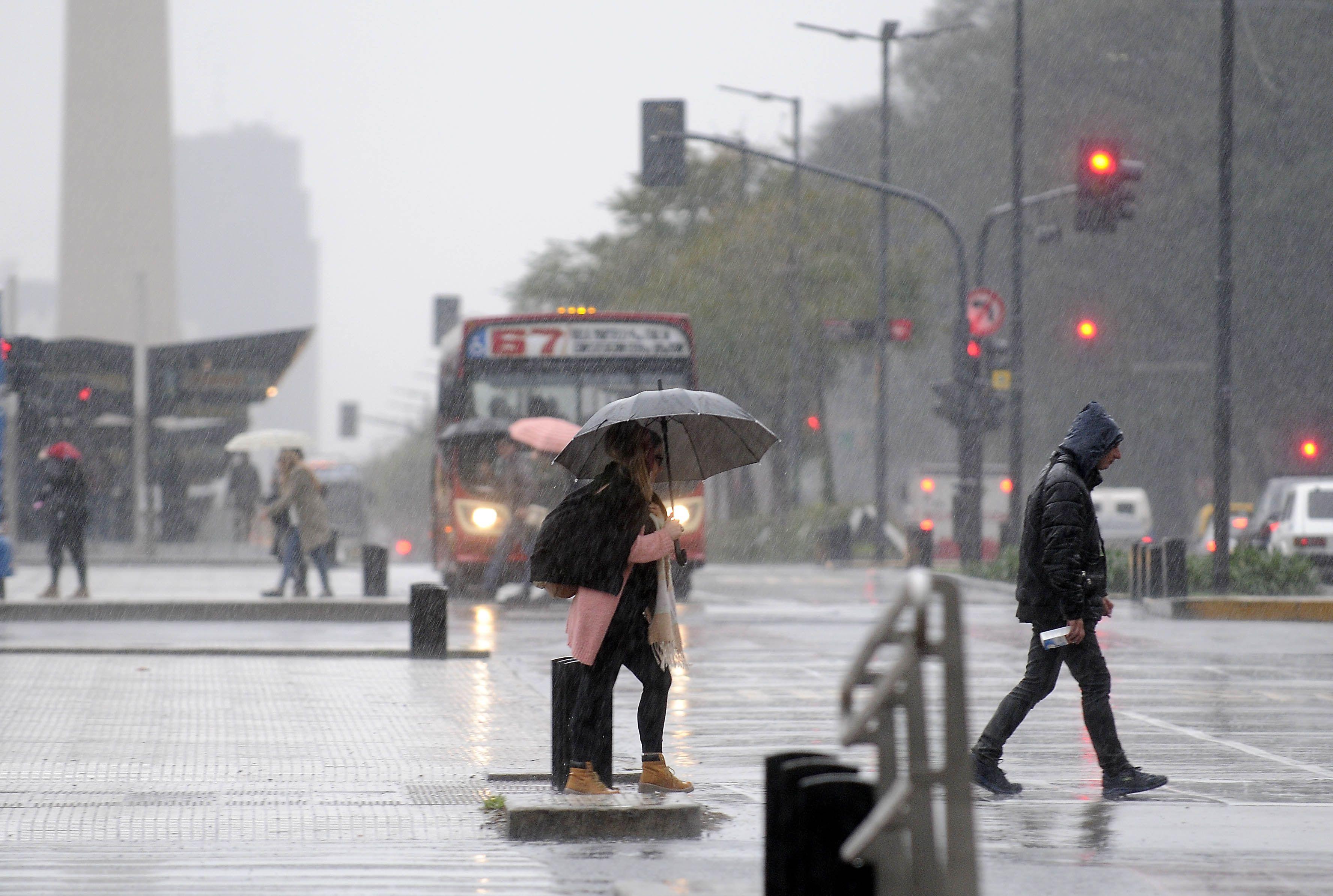 Nuevo alerta meteorológico por tormentas fuertes en la Ciudad y el norte de la provincia de Buenos Aires