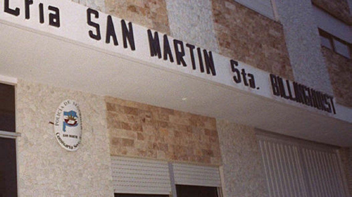 La comisaría 5a de San Martín investiga al responsable del violentocrimen
