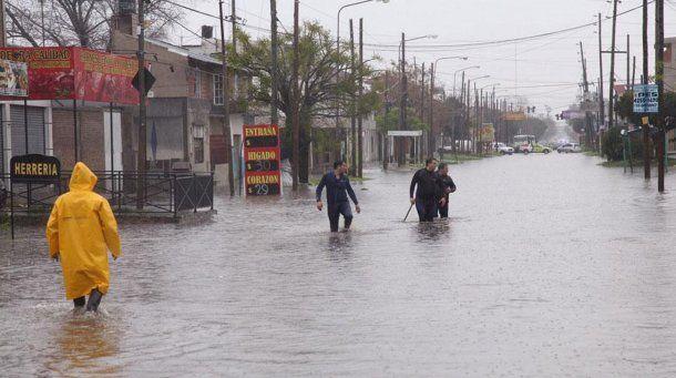 Al menos 10 localidades bonaerenses inundadas<br>