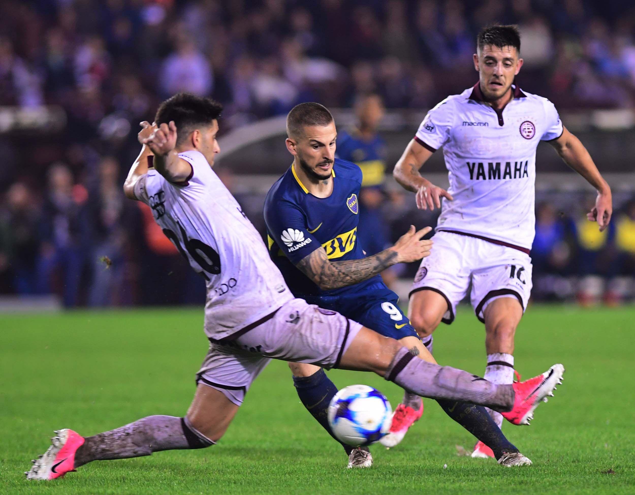 Benedetto marcó el único gol del partido