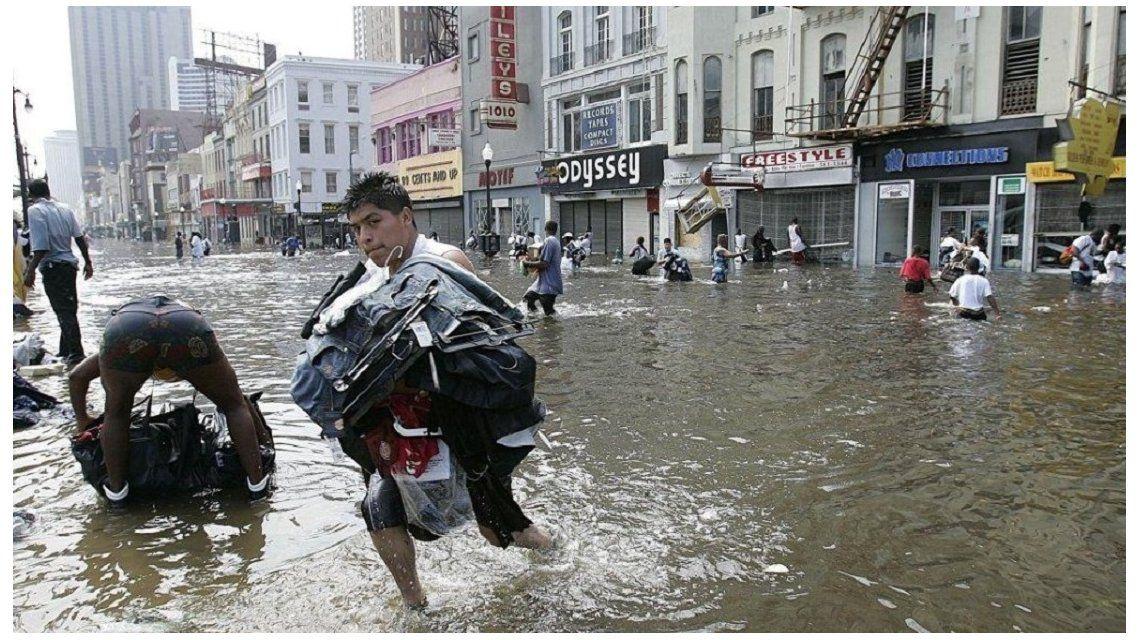 Saqueos en Miami tras el huracán Irma