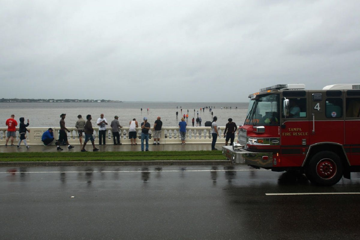 Así esperaban a Irma en Tampa Bay