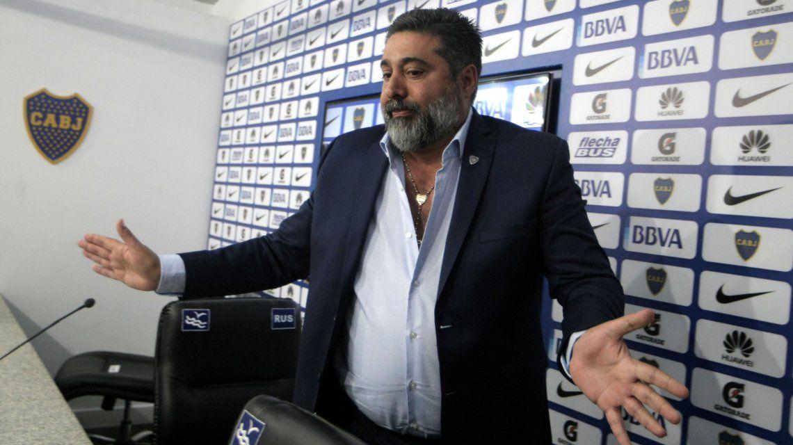 Angelici habló sobre Insaurralde y Silva: ¿qué sanción les pondrá Boca?