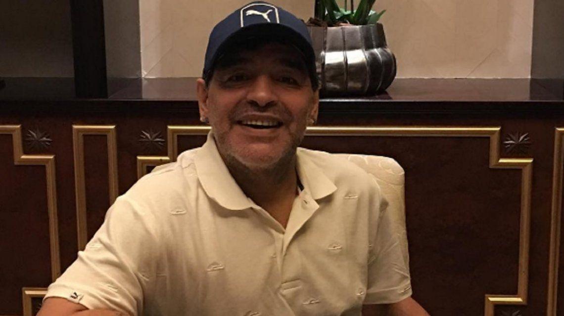 Diego Maradona abrió una cuenta de Instagram el 9 de septiembre