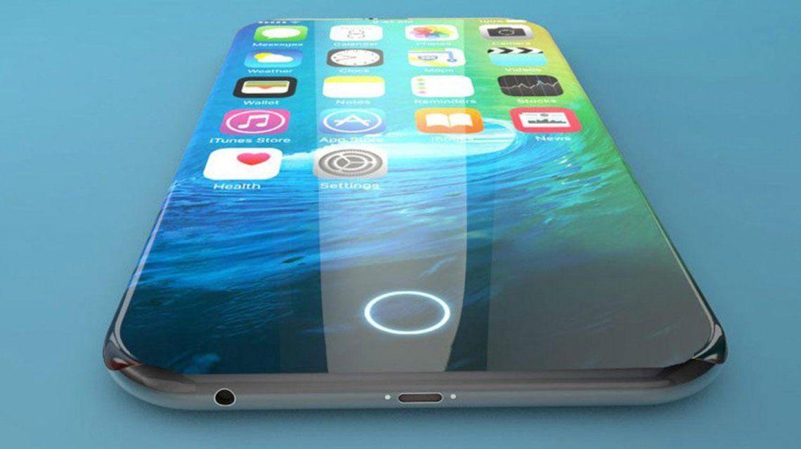 Así sería la nueva pantalla del iPhone 8