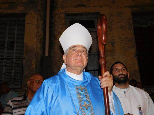 El nuncio Emil Paul Tscherrig