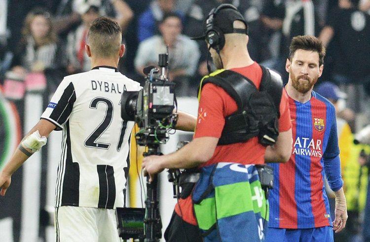 Dybala: Es difícil jugar con Messi