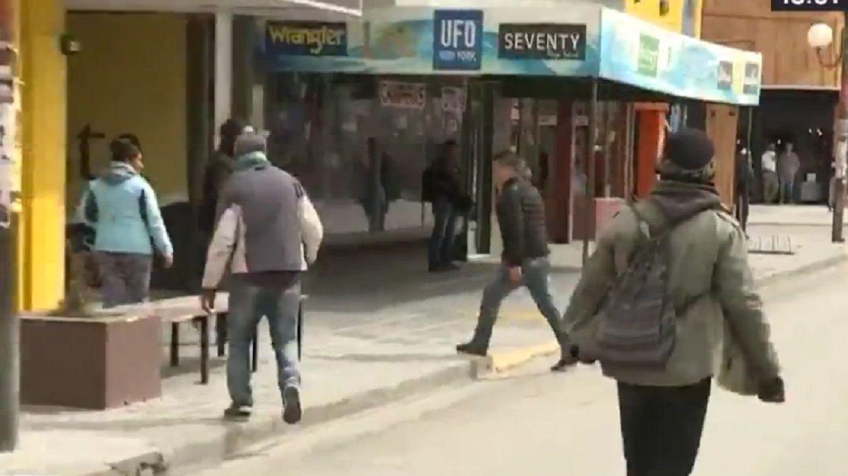 Incidentes durante la protesta de mapuches en el Juzgado de Esquel