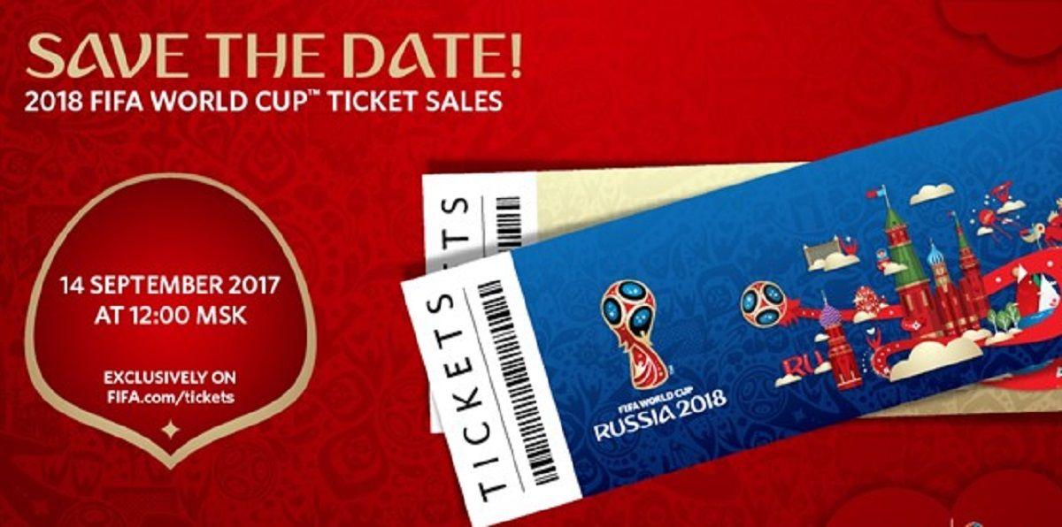 La FIFA anunció qué día se empiezan a vender las entradas para Rusia 2018