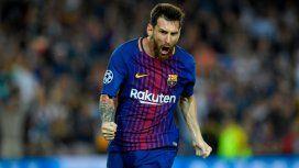 Con un Messi brillante