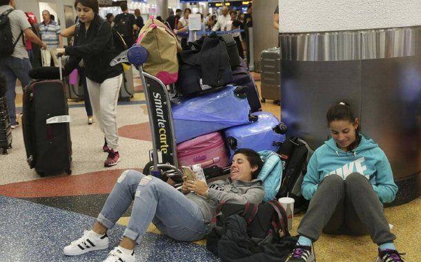 Vuelos cancelados por el huracán Irma<br>