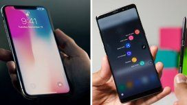 Comparativa entre el iPhone X y el Samsung Galaxy Note 8