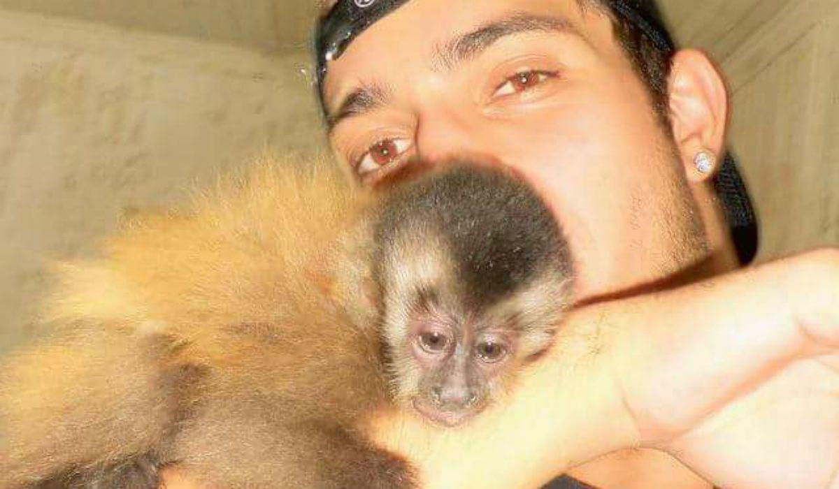 Ignacio y su mono Martín