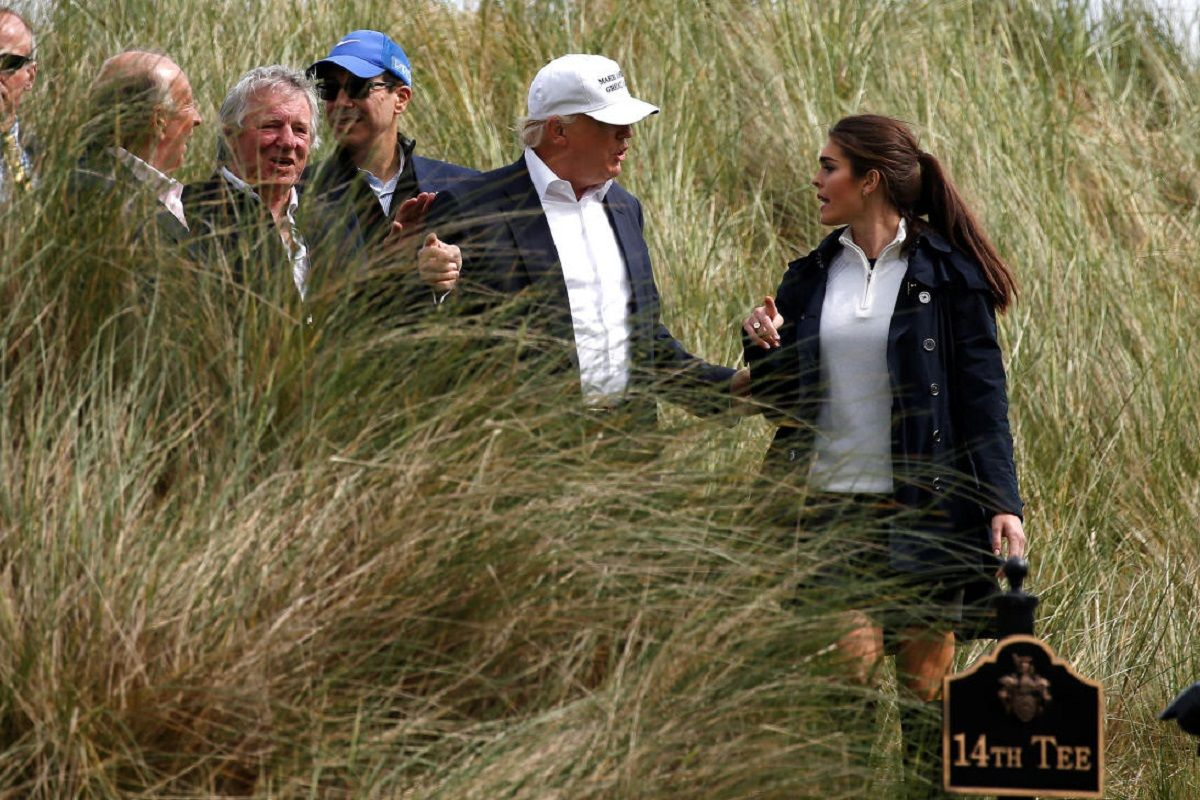 De it girl a directora de Comunicaciones del gobierno de Trump: quién es Hope Hicks