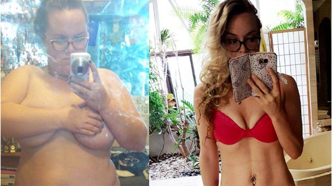 Bajó 70 kilos en un año: ¿cómo hizo?