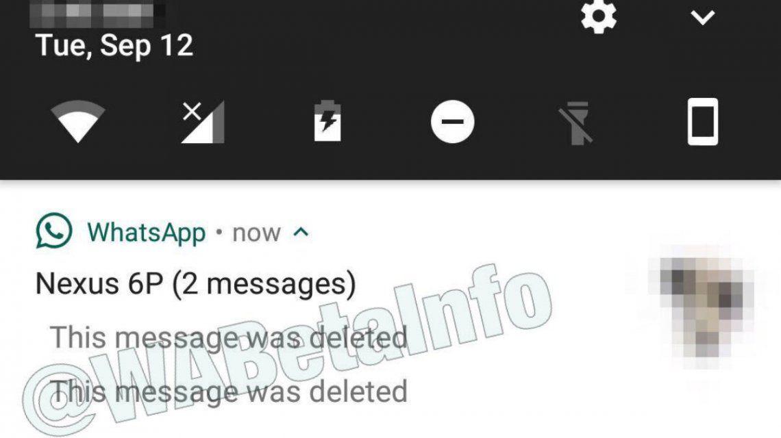 Este mensaje ha sido borrado