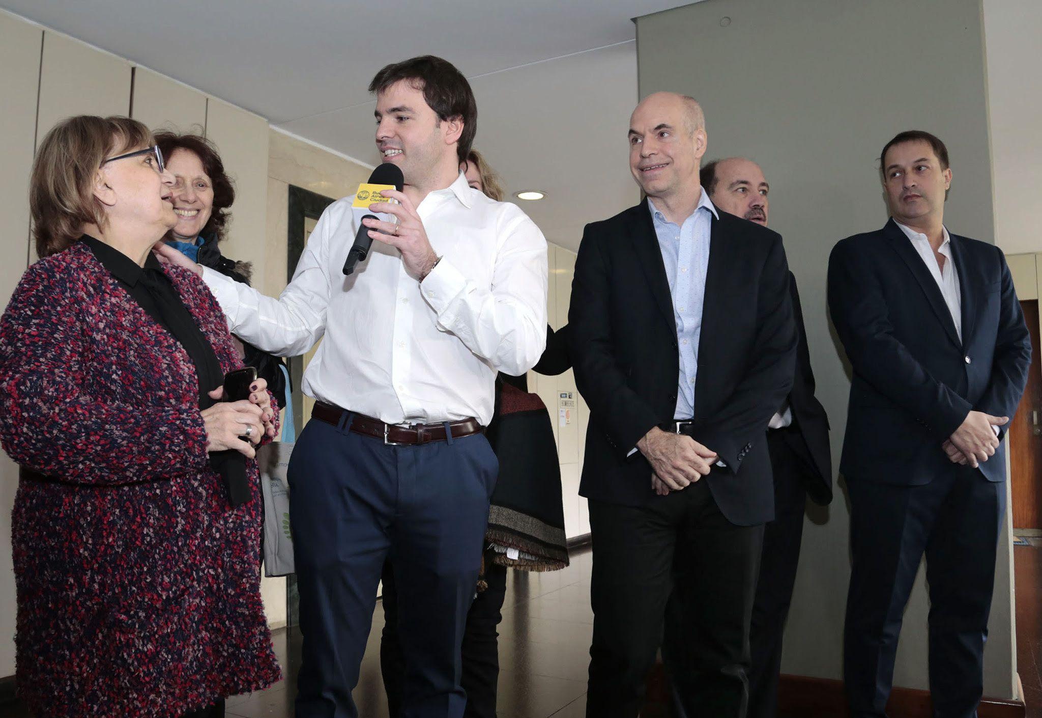El Gobierno de la Ciudad presentó Consorcio Participativo