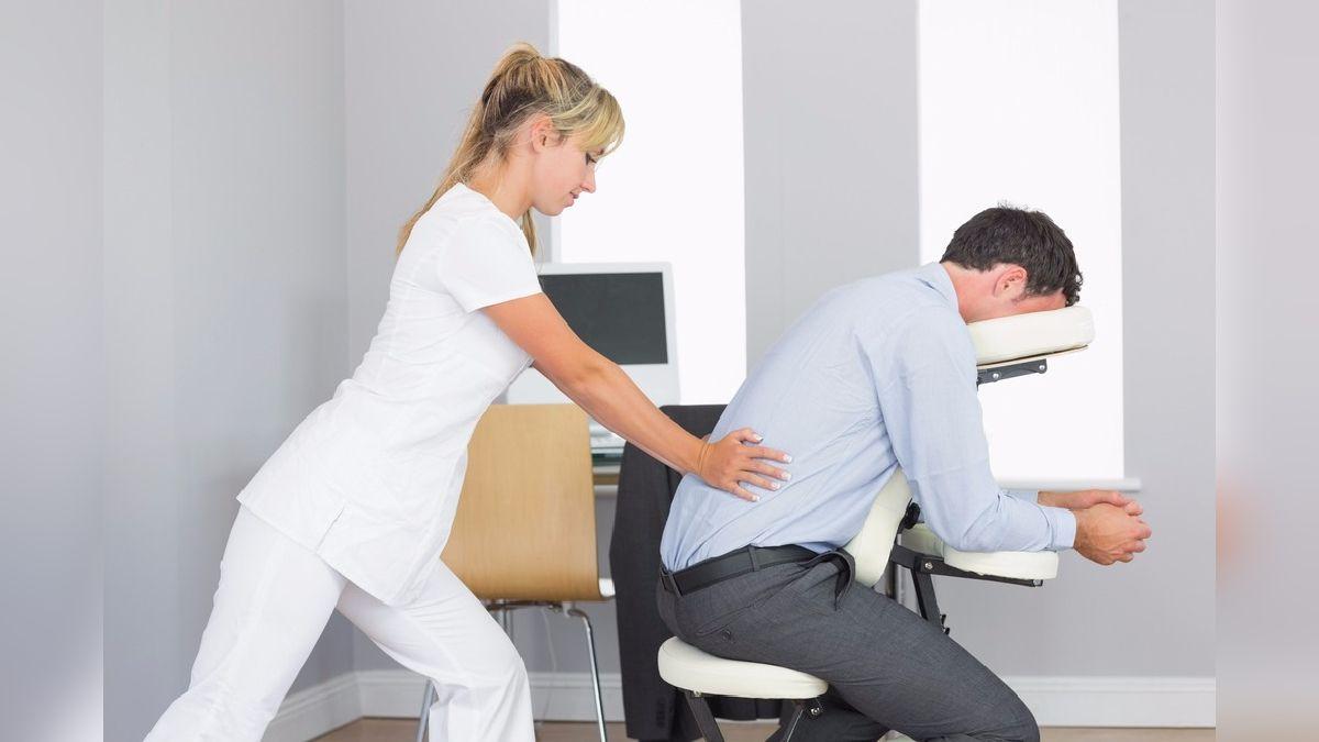 Masajes en la oficina