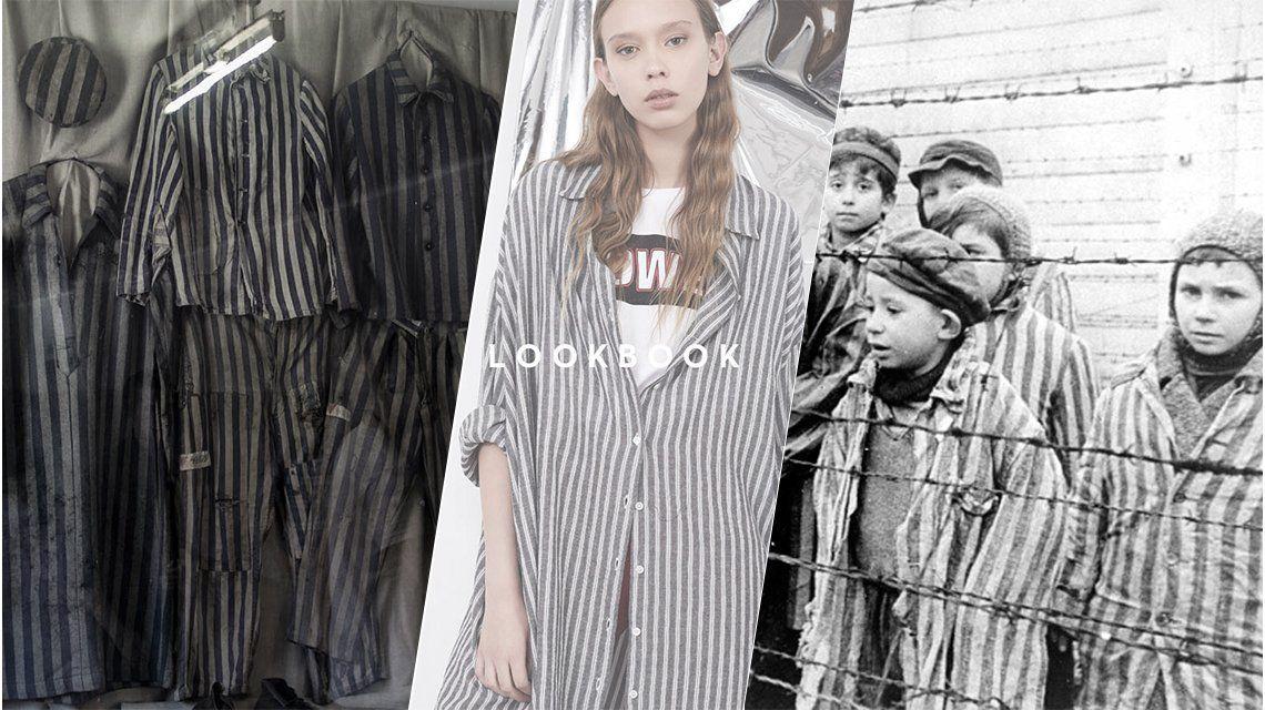 Una marca argentina para jóvenes lanzó una línea de camisas como las de Auschwitz