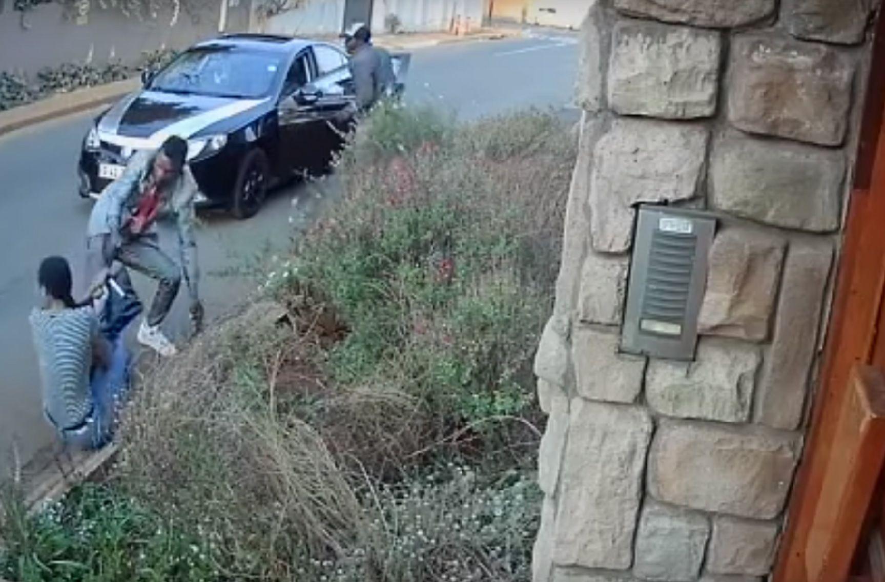 Una joven se enfrentó a delincuentes y arriesgó su vida para salvar su tesis