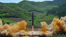 Corea del Norte lanzó un nuevo misil y pone en alerta a Japón