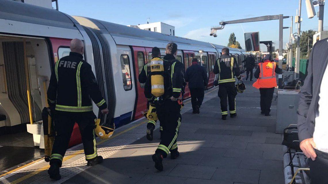 Scotland Yard cofirmó un incidente mayoren Parsons Green