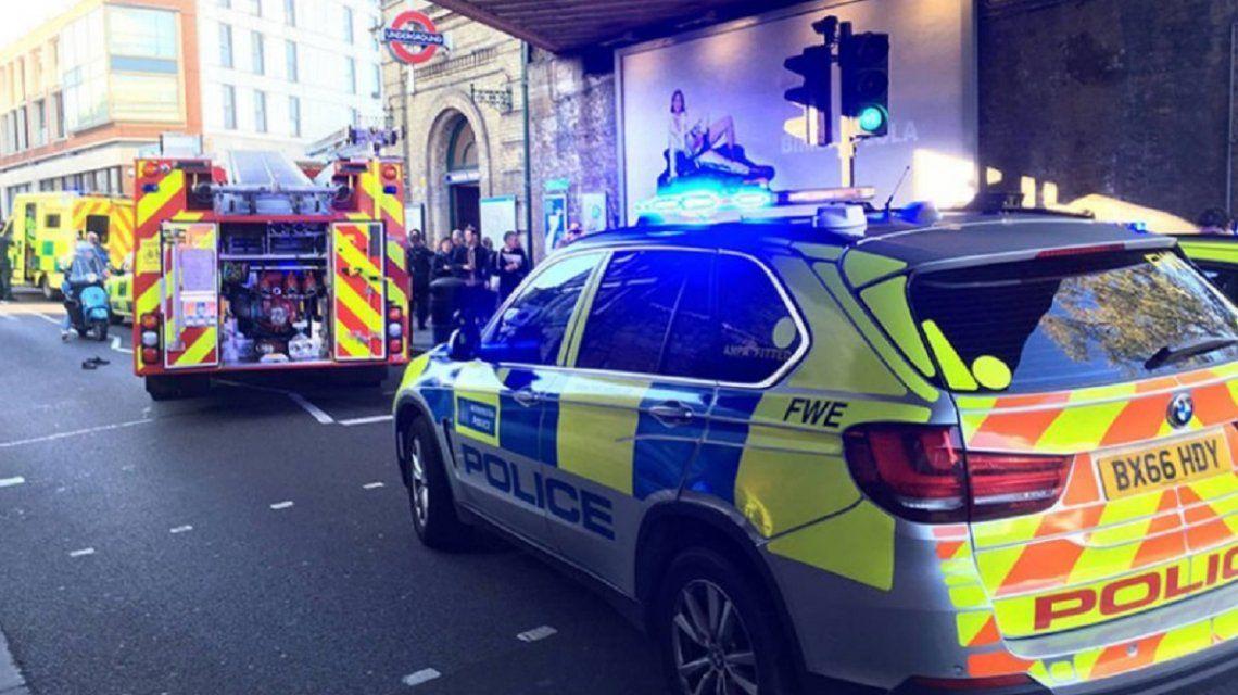 El atentado en el subte de Londres dejó al menos 29 heridos