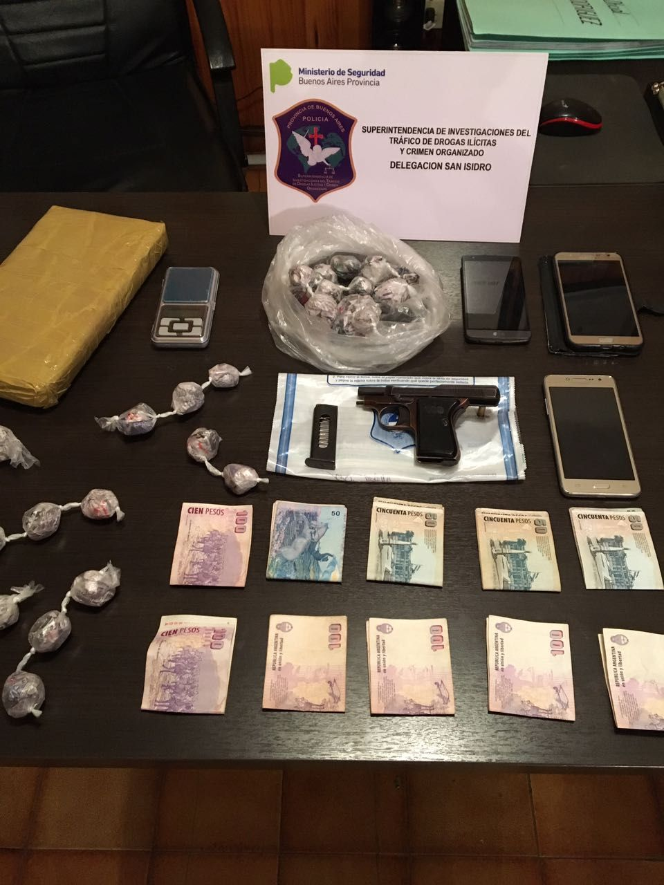 San Isidro: quisieron comprar droga en medio de un operativo