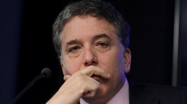 Nicolás Dujovne, ministro de Hacienda de la Nación<br>