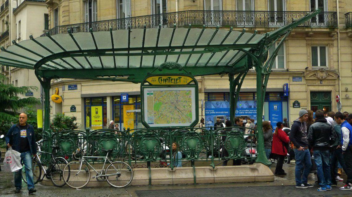 Estación de Châtelet