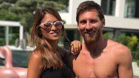 Antonela y Messi, cuerpazos en las redes