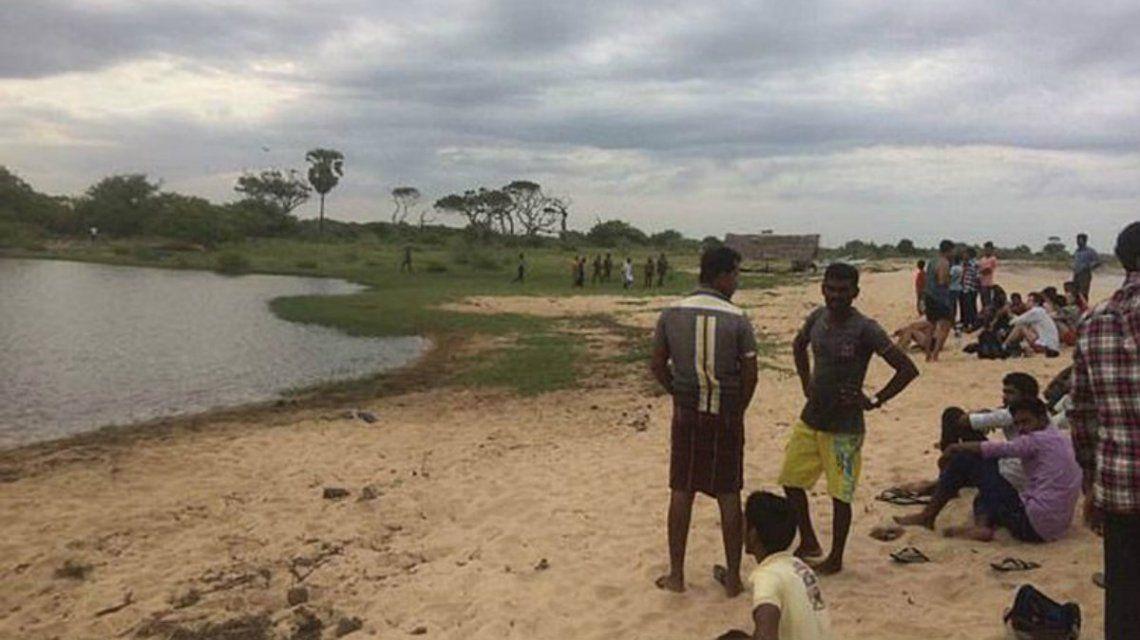 La laguna donde fue atacado por un cocodrilo el periodista británico