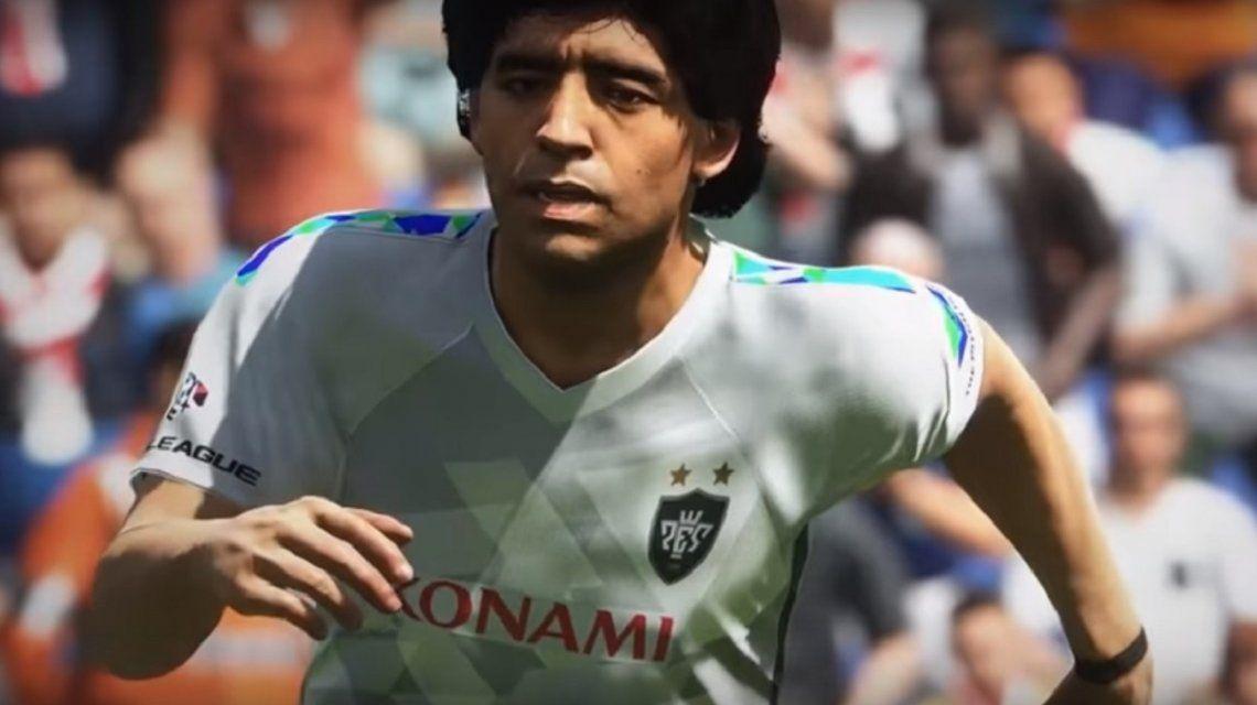 Maradona, fútbol argentino y Usain Bolt: ya está disponible el PES 2018