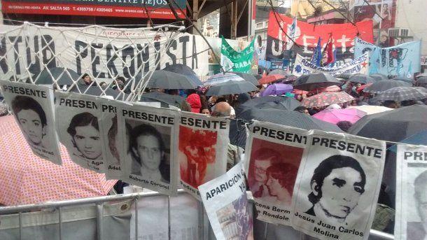 Sentencia a represores del Operativo Independencia - Crédito: @hijos_capital<p></p>