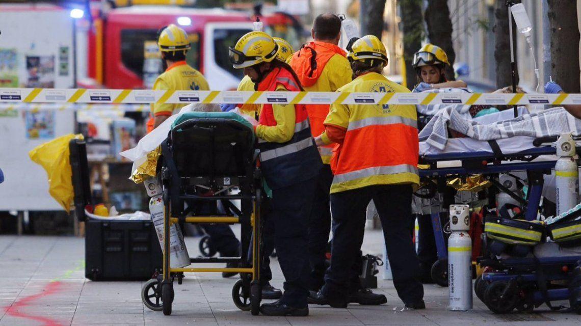 Emergencias atiende a uno de los heridos