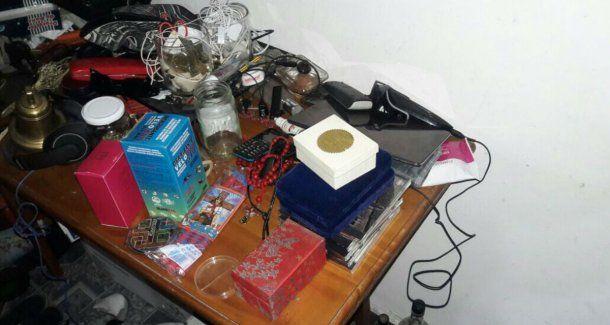 Estas son las cosas que se secuestraron en la detención de los delincuentes