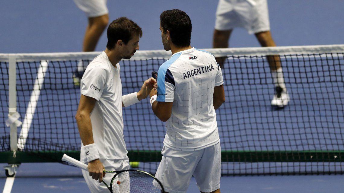 Argentina, al borde del descenso en la Davis: el dobles perdió ante Kazajistán