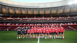 El blooper del Atlético de Madrid en la presentación de su estadio