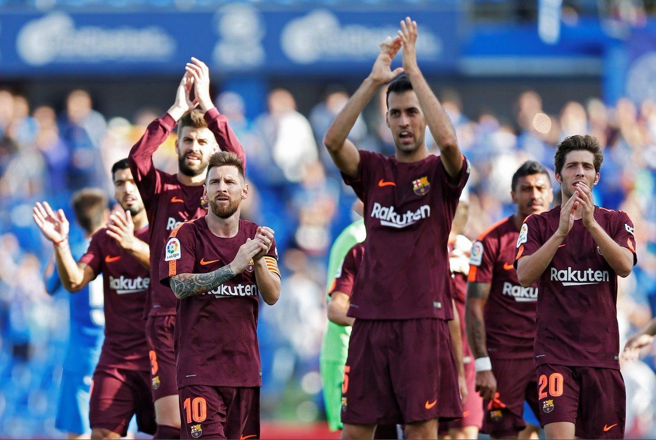 Barcelona remontó un duro partido ante el Getafe