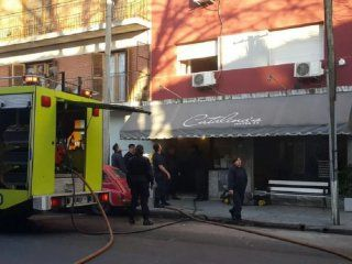 Incendio en un hotel de Mar del Plata: Crédito:www.lacapitalmdp.com