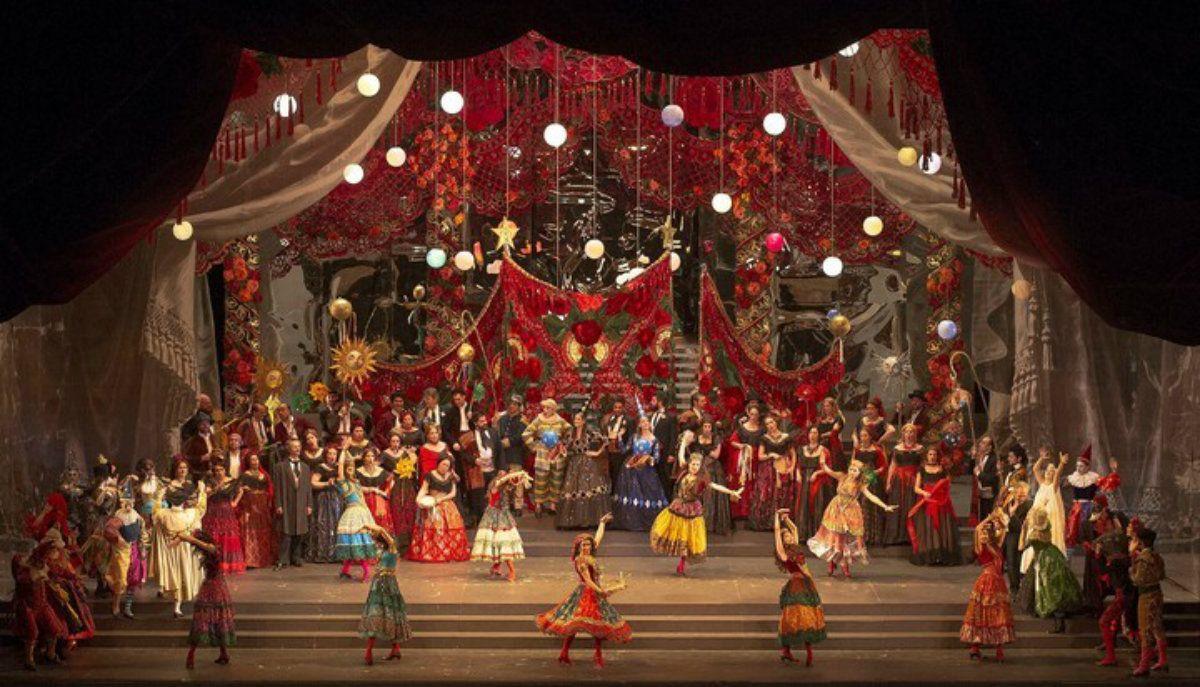 La función de La traviata del viernes fue suspendida