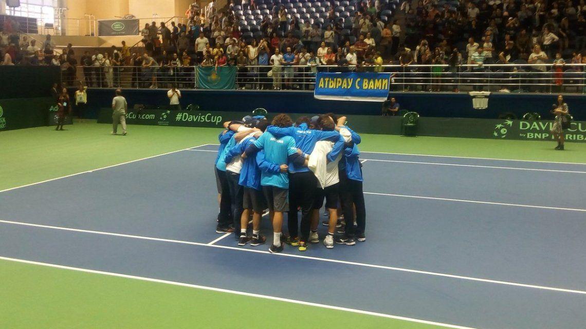 Argentina descendió a la zona americana en la Copa Davis