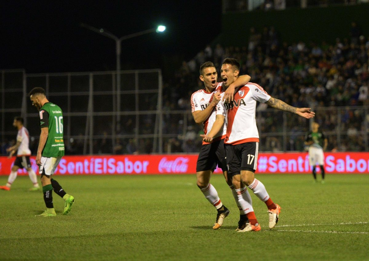 River goleó como visitante a San Martín en San Juan