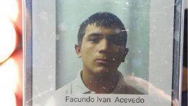 Facundo Acevedo, uno de los detenidos