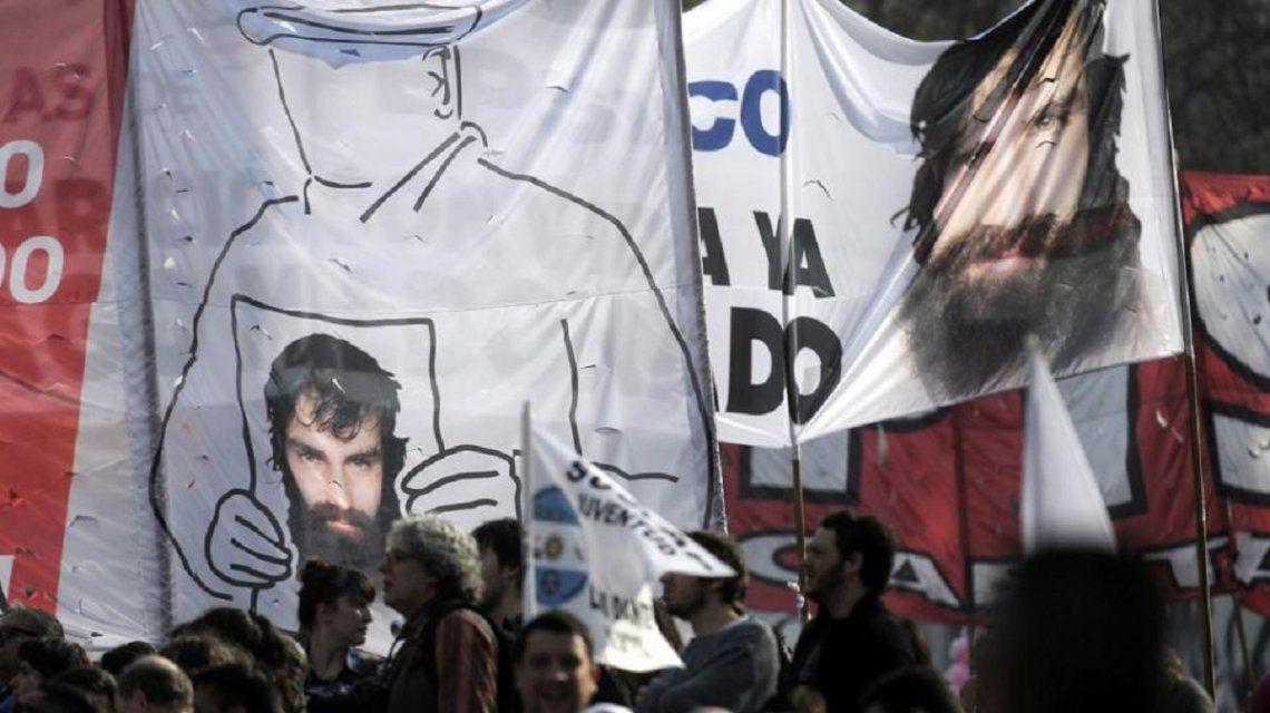 Marcha por Jorge Julio López y Santiago Maldonado