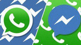 Messenger ya logró alcanzar a WhatsApp