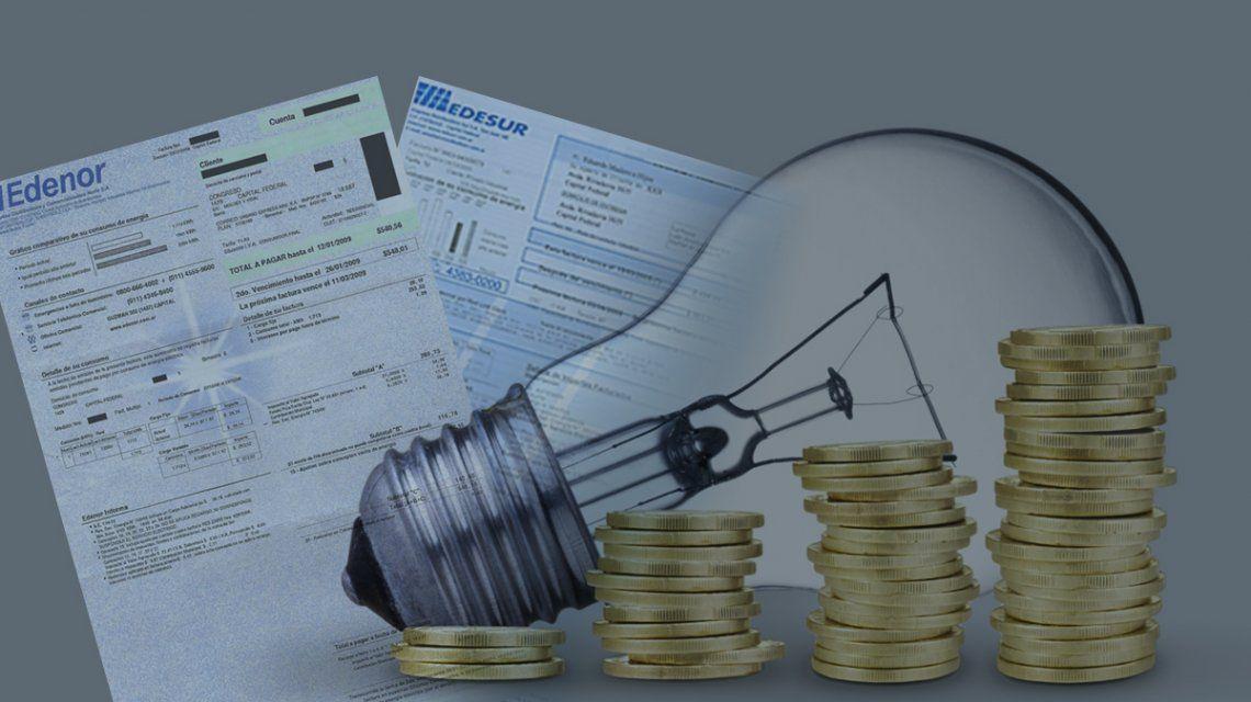 A partir de febrero, las tarifas de Edenor y Edesur serán un 50% más caras