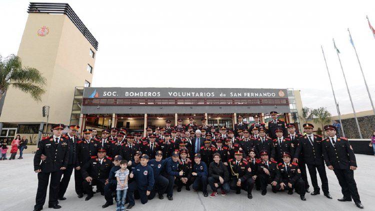 San Fernando tiene el cuartel de bomberos más grande del país